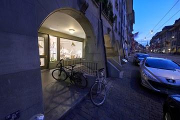 Schaufenster vor 22 Uhr (Bild: Adrian Moser). Vergrösserte Ansicht
