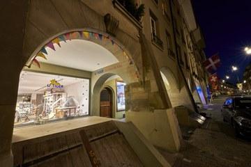 Schaufenster nach 22 Uhr (Bild: Adrian Moser). Vergrösserte Ansicht