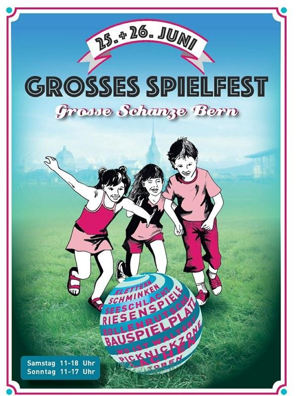 Flyer Grosses Spielfest 2016