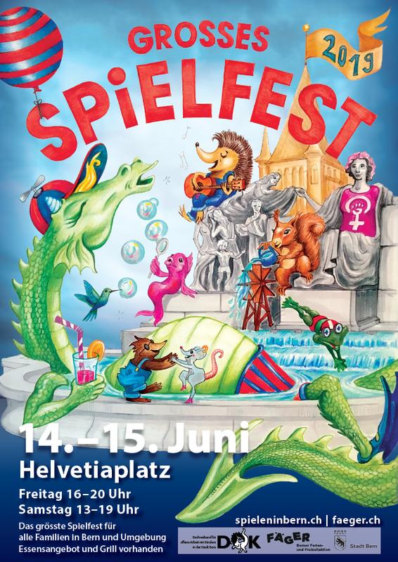 Flyer Grosses Spielfest