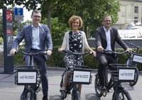 Veloverleih Stadt Bern - Bruno Rohner, Ursula Wyss, Roman Cueni