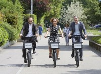 Veloverleih Stadt Bern - Roman Cueni, Ursula Wyss, Bruno Rohner