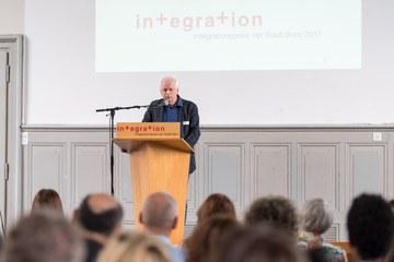 Integrationspreis Urs Frieden Bild Sandra Blaser (JPG, 1,8 MB). Vergrösserte Ansicht