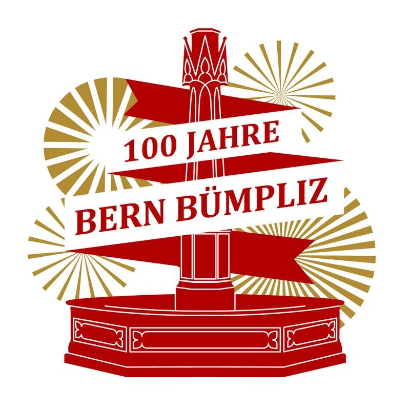 Logo Jubiläum 100 Jahre Bern Bümpliz