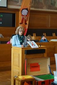 Annemarie Tschumper, Leiterin Gesundheitsdienst, im KiPa