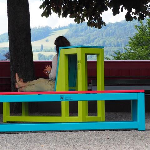 Sitzmoebel. Vergrösserte Ansicht