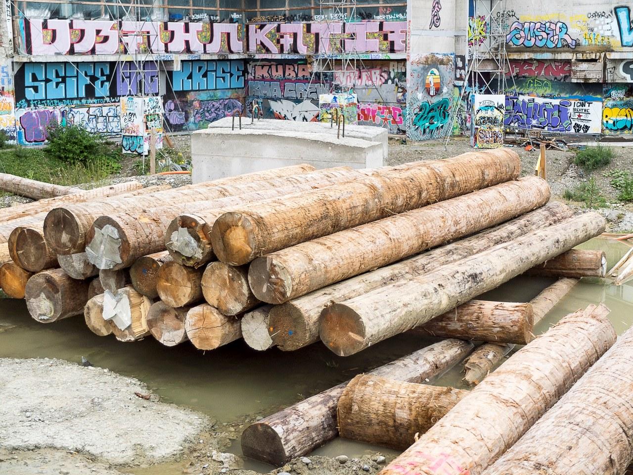 Es kommt mit der Zeit: Projekt von Meierfranz im Warmbächli (Foto: Meierfranz).