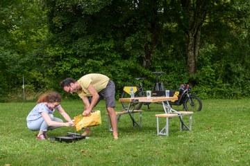 Projekt bleib hier   Barbecue Bike. Vergrösserte Ansicht