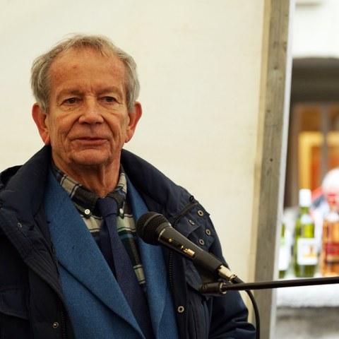 Alexander Hadorn, Präsident Kesslergass Gesellschaft. Vergrösserte Ansicht