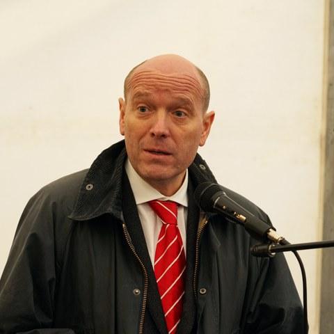 Gemeinderat Michael Aebersold. Vergrösserte Ansicht