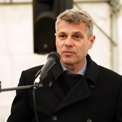 Regierungsrat Christoph Ammann. Vergrösserte Ansicht