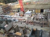 Baustelle Grundsteinlegung DTH Bitzius 1