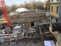 Baustelle Grundsteinlegung DTH Bitzius 2