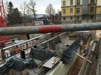 Baustelle Grundsteinlegung DTH Bitzius 3