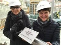 Irene Hänsenberger und Franziska Teuscher DTH Bitzius