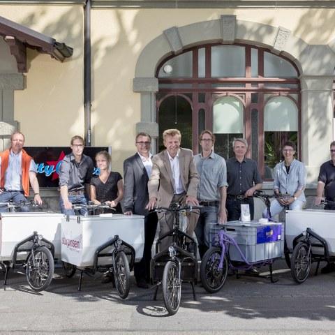 eCargo Bikes 1 Bild Beat Schweizer (JPG, 4,5 MB). Vergrösserte Ansicht