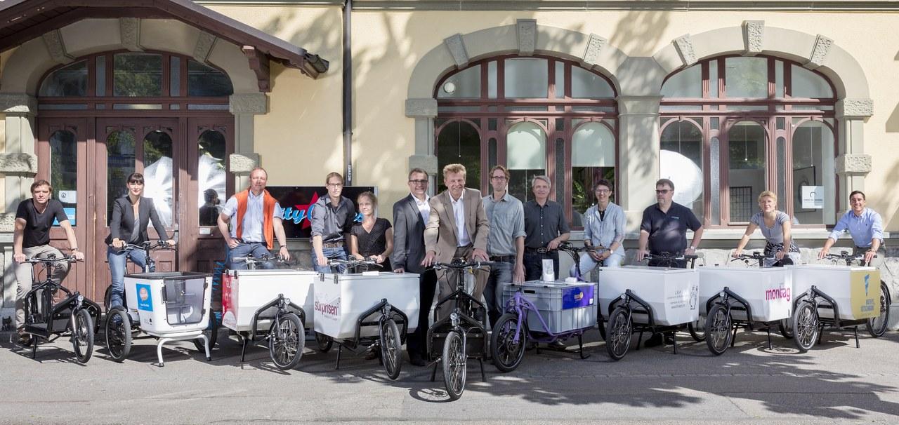 Bild eCargo-Bikes. Foto: Beat Schweizer.