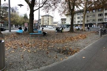 Loryplatz nach der Umgestaltung (Tiefbauamt Stadt Bern). Vergrösserte Ansicht