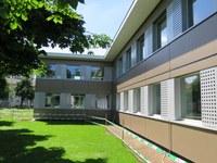 Aussenansicht Modulbau Munzinger 1 Bild Hochbau Stadt Bern