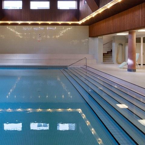 Lehrschwimmbecken im Hallenbad Hirschengraben (Bild: Sportamt Bern)