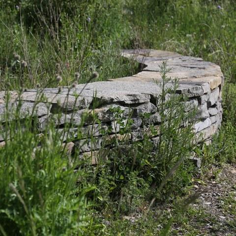 Bild 4 Trockenmauer (Sabine Tschäppeler). Vergrösserte Ansicht