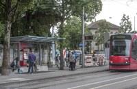 neue Haltestelle Helvetiaplatz III