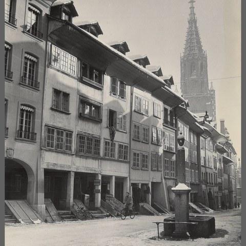 Münster Herrengasse (Bild: Stadtarchiv Bern). Vergrösserte Ansicht