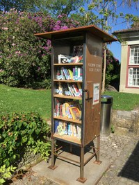 Offener Bücherschrank Elfenau