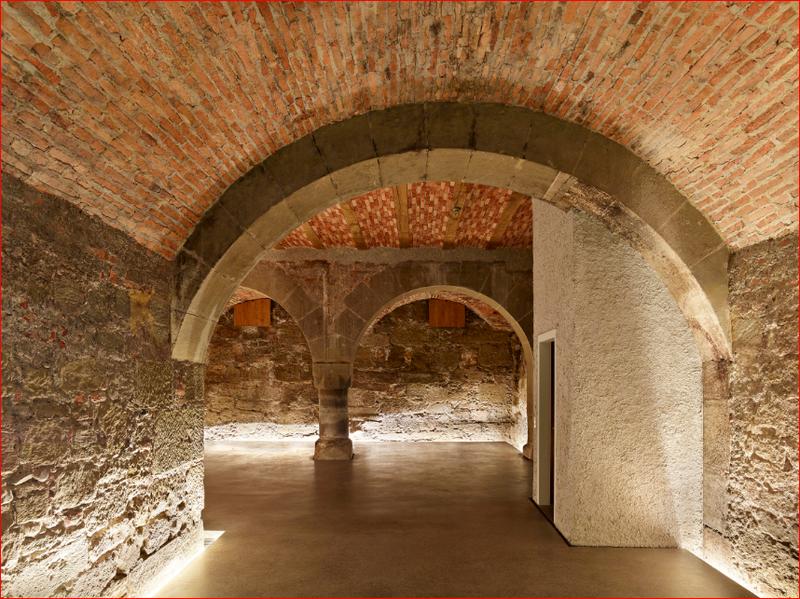 Junkerngasse 58, Kellergewölbe, Bild Caspar Martig (JPG, 2,2 MB)