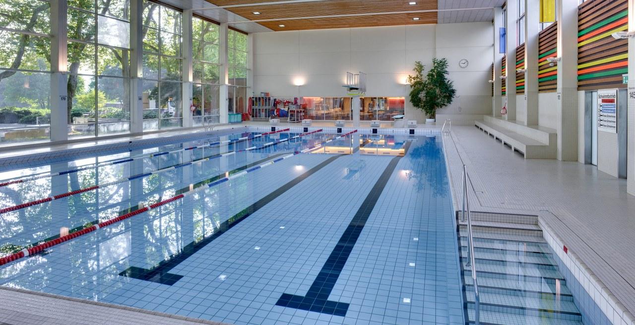 Bild des Hallenbads Wyler, Sportamt Bern.