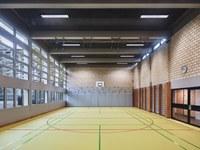 Turnhalle Gäbelbach, Foto: Damian Poffet