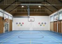 Turnhalle Volksschule Lorraine. Bild: Hochbau Stadt Bern