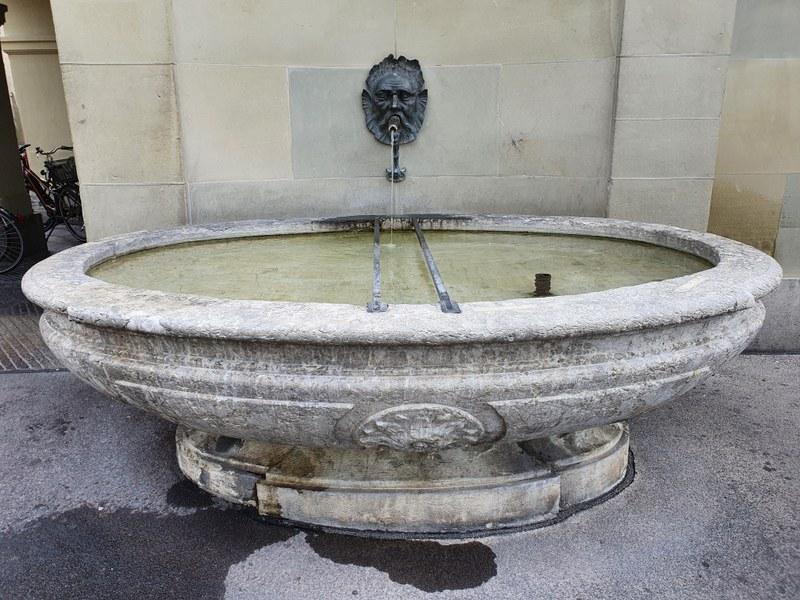 Stadtbibilothekbrunnen. Bild: Immobilien Stadt Bern.