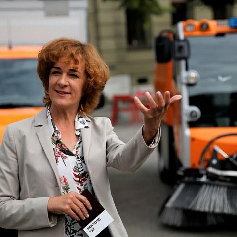 Gemeinderätin Ursula Wyss klein. Vergrösserte Ansicht
