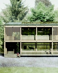Visualisierung WO DIE WILDEN KERLE WOHNEN © Team Bischof Föhn Architekten ETH SIA