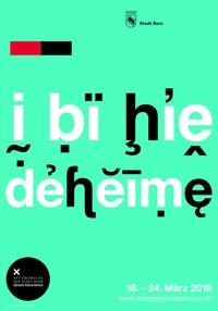 Plakat «I bi hie deheime»
