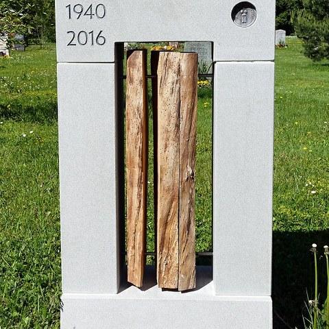 prämiertes Grabmal, Foto: Stadtgrün Bern. Vergrösserte Ansicht