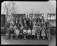 Bild Klasse von Frau Hadorn, Bethlehem 1961, Foto aus dem Nachlass Walter Wiedmer, Bümpliz (SAB 1304 8 0 3)