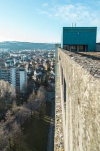 Hochhaus Abendstrasse 30 - Aussicht, Bild: Martin Rungg, DR. MEYER Verwaltungen AG