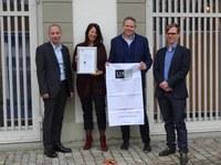 Bild Verleihung Prädikat «Familie UND Beruf» Stadtgrün Bern