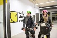 Eröffnung Velostation Schanzenpost Bild 3_Foto Béatrice Devènes