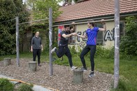 2 Eröffnung BärnParcours mit Franziska Teuscher, Bild: Sportamt der Stadt Bern