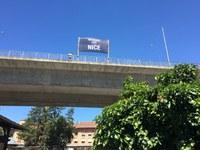 Banner Solidarität mit Nizza 3