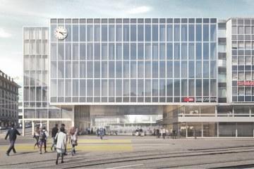 Visualisierung Bubenbergzentrum©nightnurse images AG, im Auftrag der SBB. Vergrösserte Ansicht