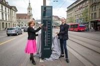 Velobarometer mit Ursula Wyss und Karl Vogel - Querformat