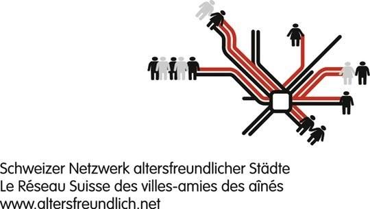 Logo Schweizer Netzwerk altersfreundlicher Städte
