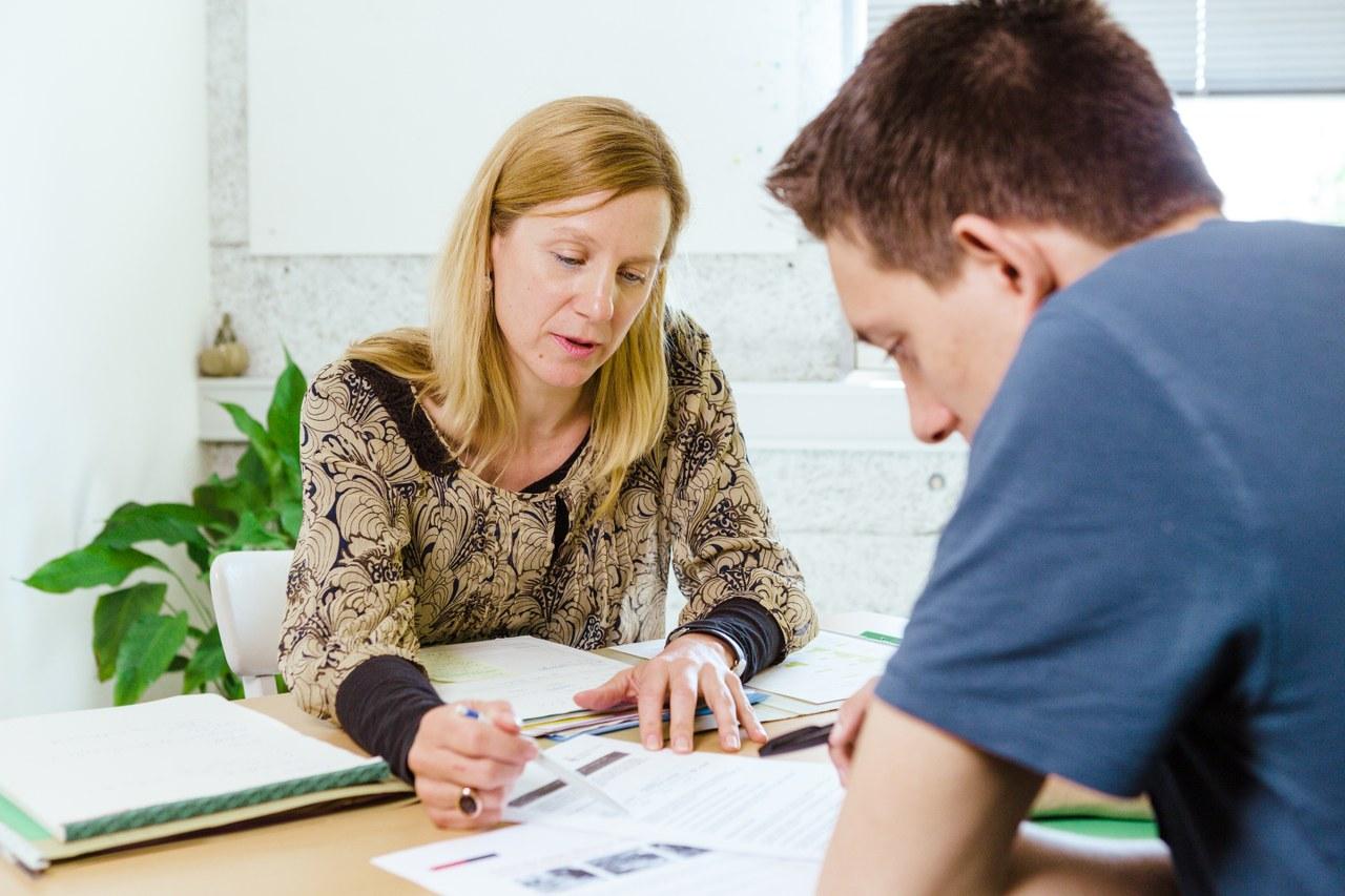 Coachingsituation, Gespräch mit Jugendlichem