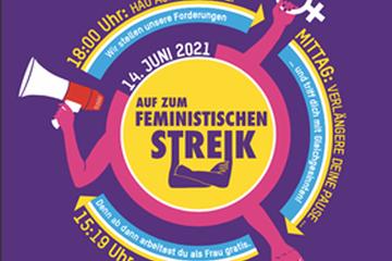 Frauenstreik 14.06.2021. Vergrösserte Ansicht