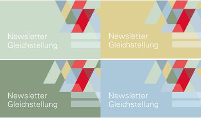 Briefkopf Newsletter  Fachstelle Gleichstellung