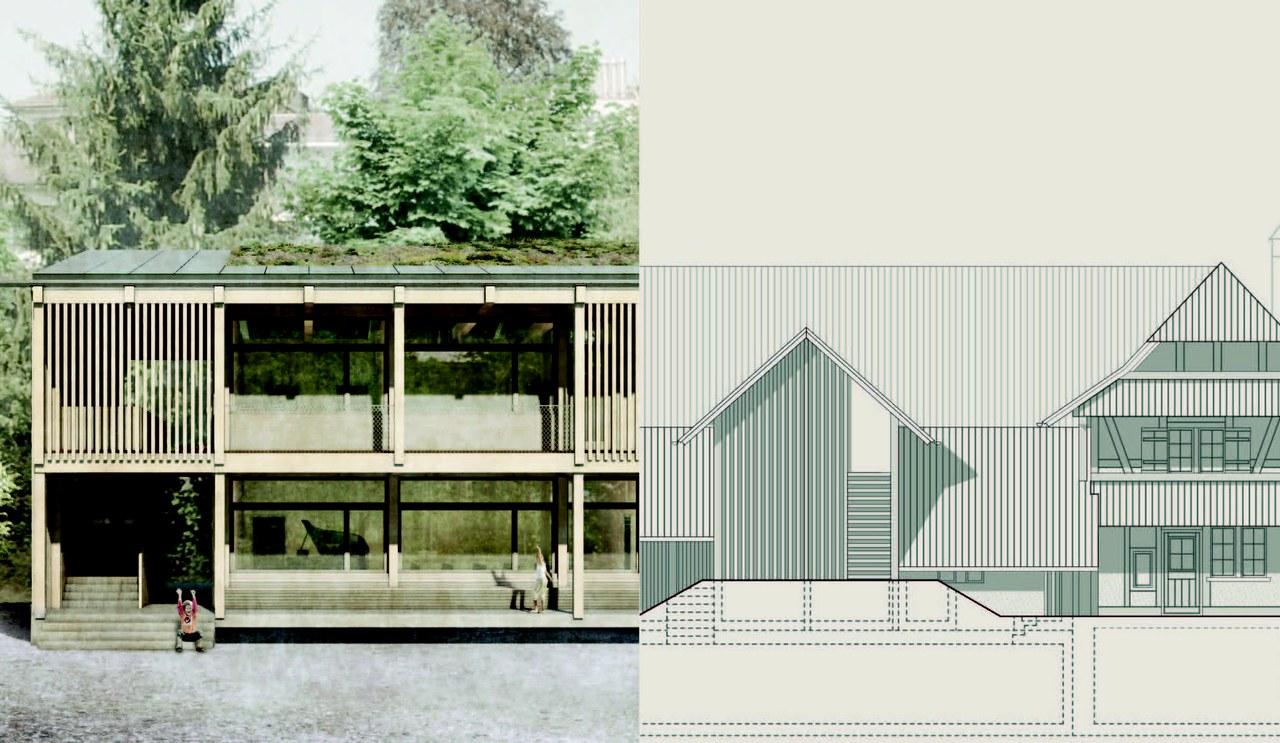 Visualsierung und Fassade
